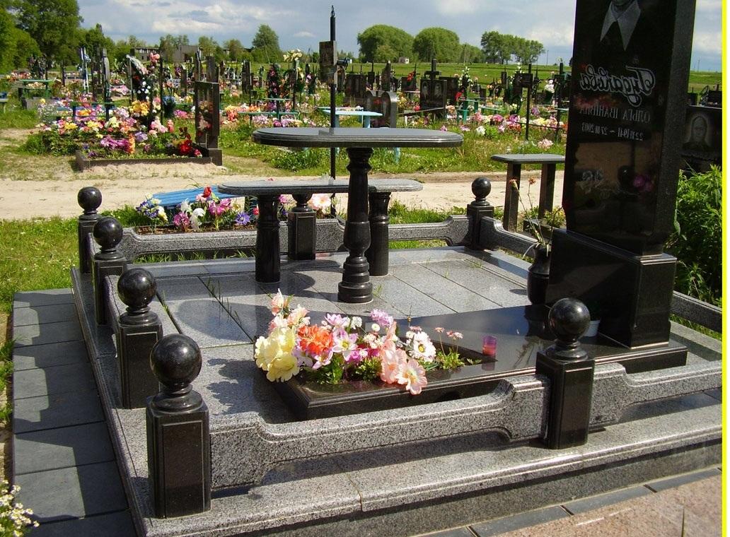 Гранитные ограды для могил – лучшие предложения в Минске