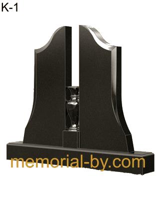 Купить Памятник гранитный вертикальный — стела — K-1 в Минске