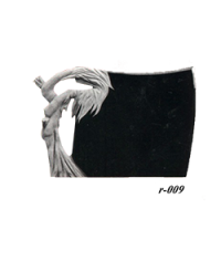 Купить Памятник гранитный резной — стела — R-009 в Минске