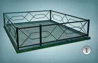 Купить Ограда из металла-1 в Минске