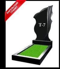 Купить Памятник гранитный вертикальный — стела — Т-7 в Минске