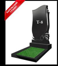 Купить Памятник гранитный вертикальный — стела — Т-8 в Минске