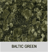 Вид гранита baltic green