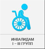 Льготы инвалидам 1-3 групп