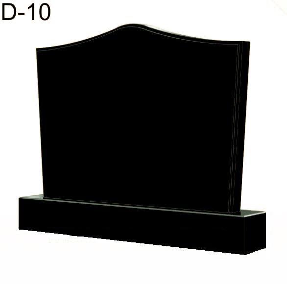 Купить Памятник гранитный горизонтальный- стела — D-10 в Минске