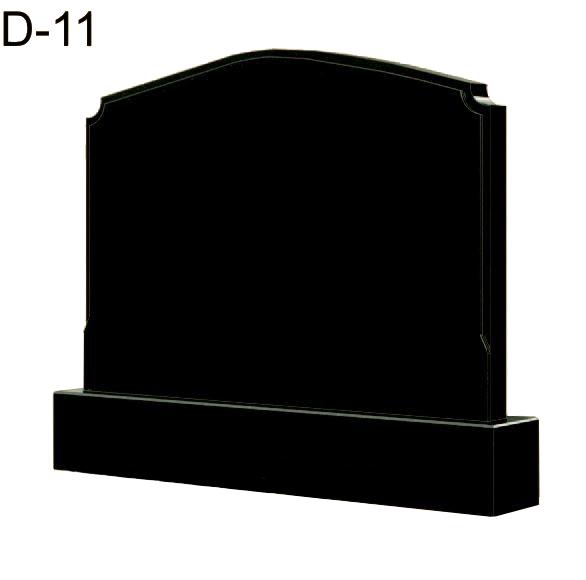 Купить Памятник гранитный горизонтальный- стела — D-11 в Минске