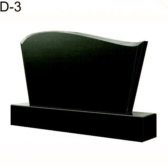 Купить Памятник гранитный горизонтальный — стела — D-3 в Минске