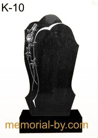Купить Памятник гранитный вертикальный — стела — K-10 в Минске