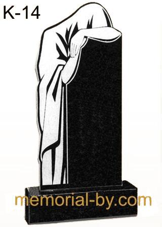Купить Памятник гранитный вертикальный — стела — K-14 в Минске
