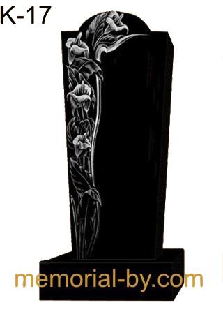 Купить Памятник гранитный вертикальный — стела — K-17 в Минске