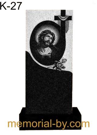 Купить Памятник гранитный вертикальный — стела — K-27 в Минске