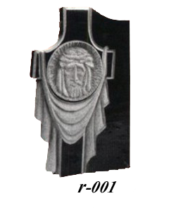 Купить Памятник гранитный резной — стела — R-001 в Минске